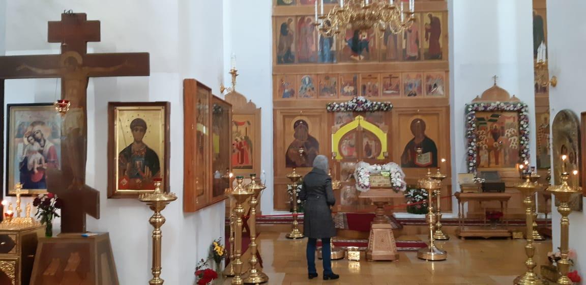 Покровский собор. Внутри храма