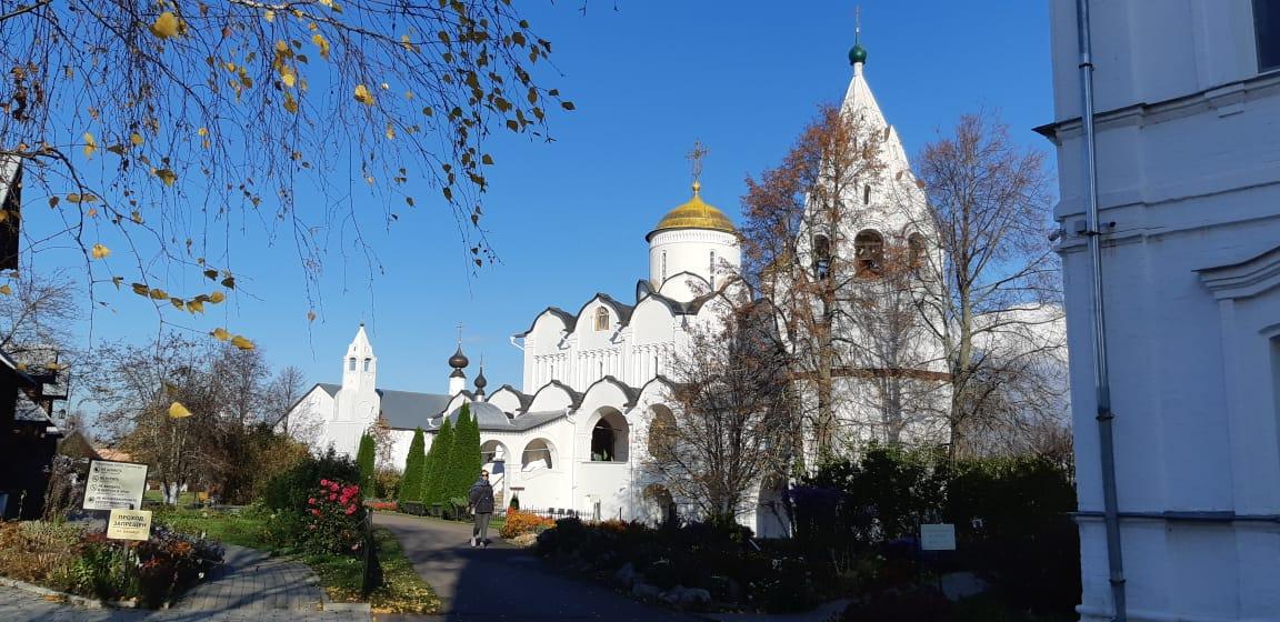 Покровский монастырь города Суздаля