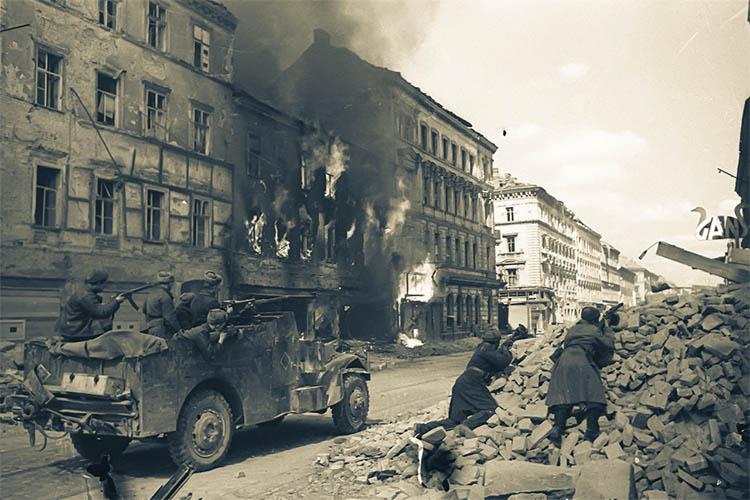 Бои за Будапешт