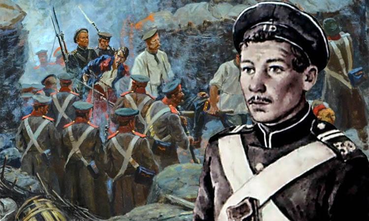Герой обороны Севастополя Петр Кошка