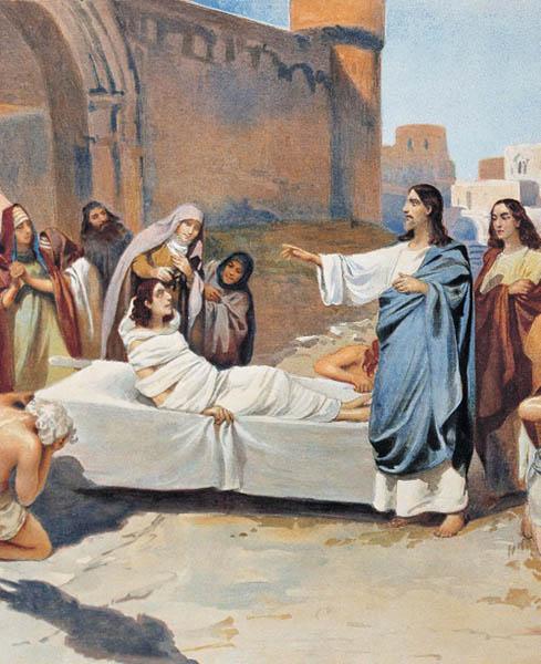 Христос воскрешает сына Наинской вдовы