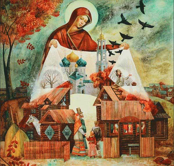 Картина Покров Пресвятой Богородицы