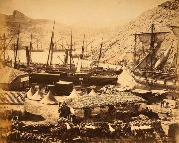 Казачья бухта, Балаклава (фото Роджера Фентона)