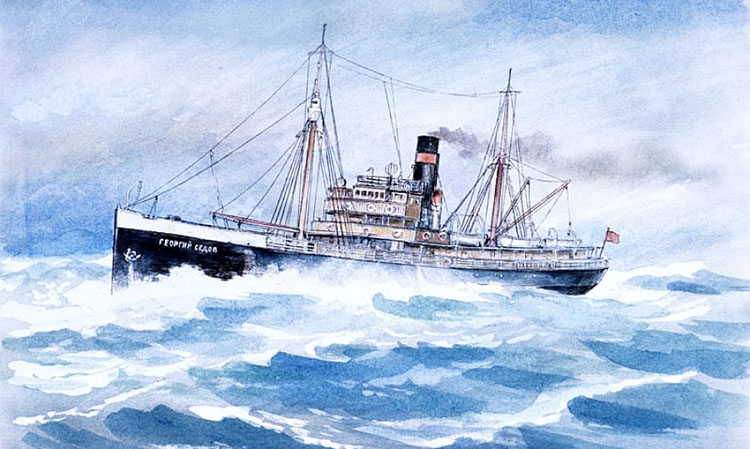 Ледокольный пароход «Георгий Седов»