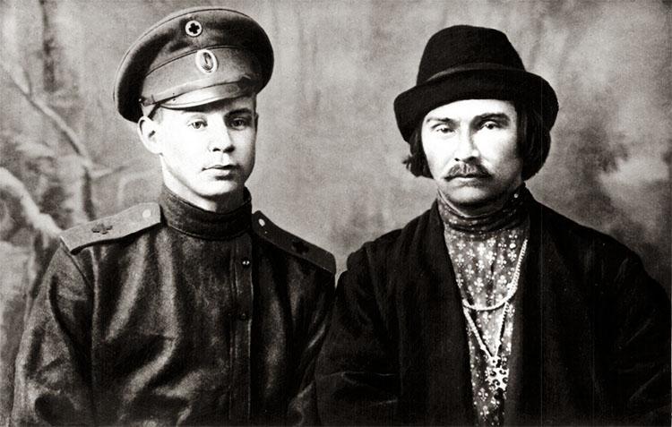 Николай Клюев и Сергей Есенин