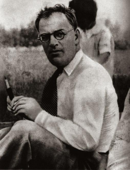 Писатель Борис Пильняк