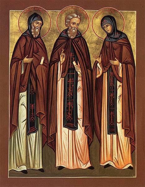 Преподобный Сергий Радонежский, Кирилл и Мария Радонежские