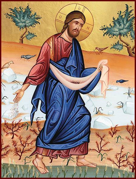 Притча Христа о сеятеле