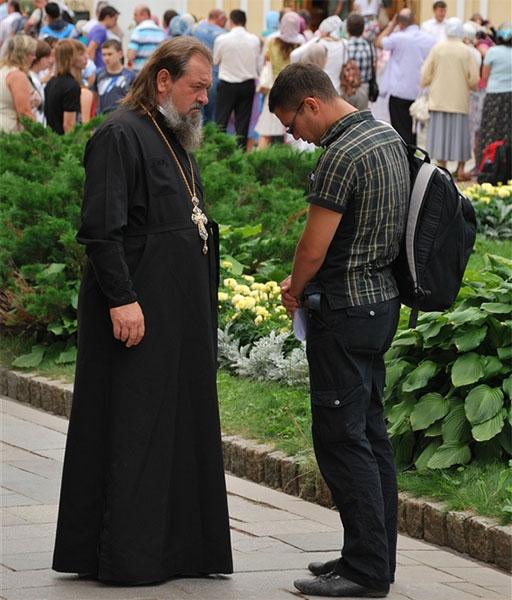 Разговор со священником