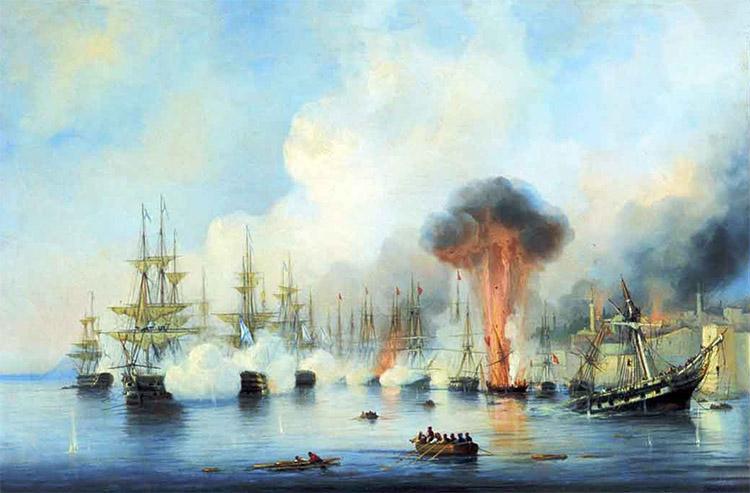 Синопское сражение 1853 года