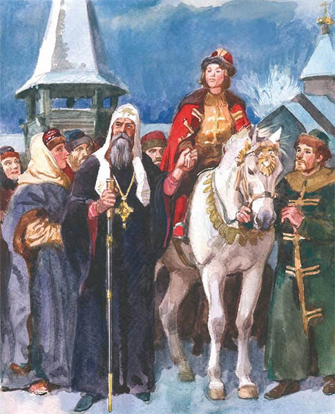 Святитель Алексий и Димитрий Донской