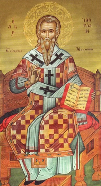 Святой Иларион, епископ Меглинский