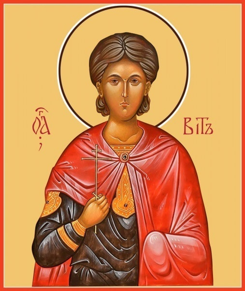 Святой мученик Вит