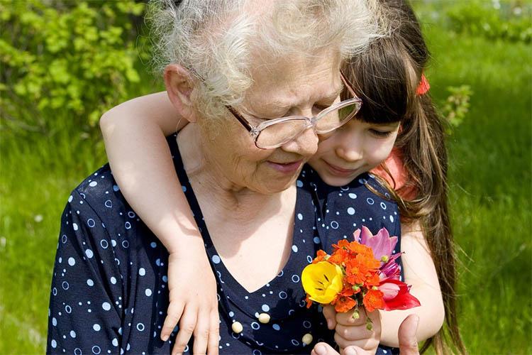 Цветы для бабушки