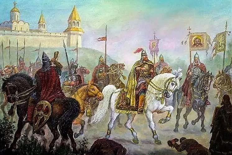Войско Андрея Боголюбского