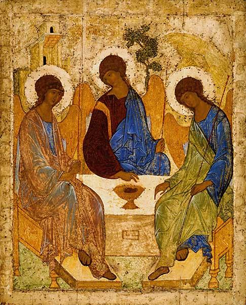 Животворящая Троица Андрея Рублева