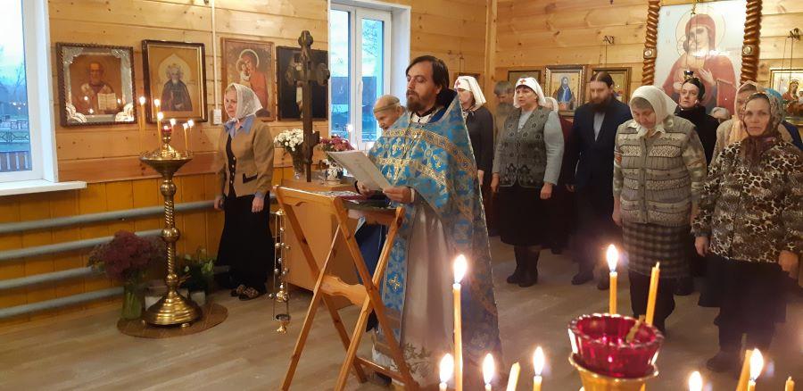 Служение Молебна перед Литургией