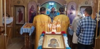 Великий вход со Святой Чашей