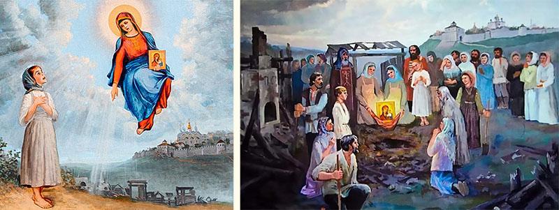 Чудесное явление Казанской иконы Божией Матери