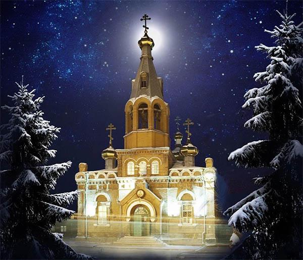 Храм и звездное небо