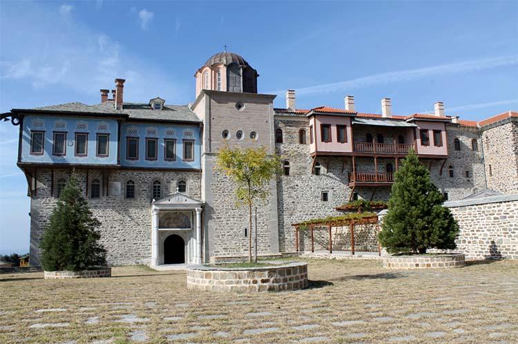 Монастырь Ксиропотам на Афоне