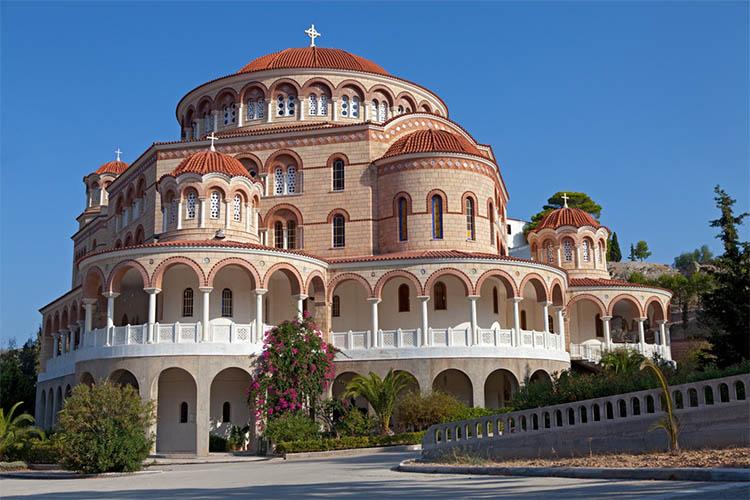 Монастырь Святой Троицы (Эгина)
