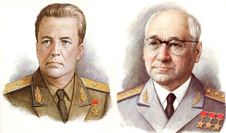 Мясищев и Туполев
