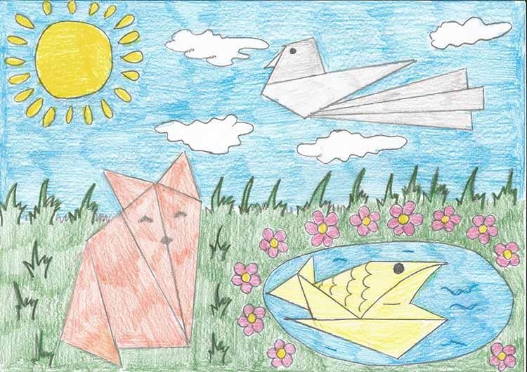 Оригами. Рисунок