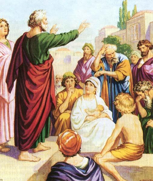 Проповедь апостола Петра