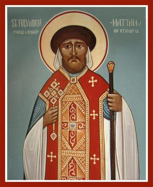 Святитель Фулвиан (в Крещении Матфей), епископ Эфиопский
