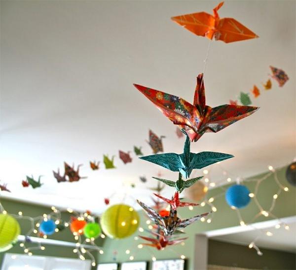 Украшения из оригами