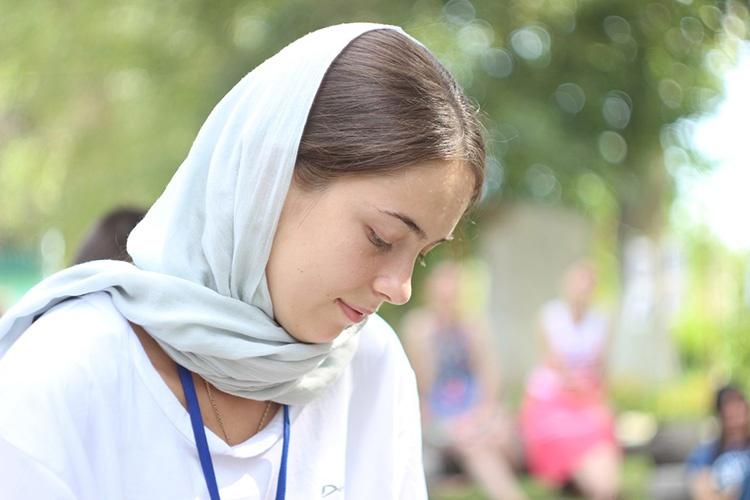 Женщина-христианка