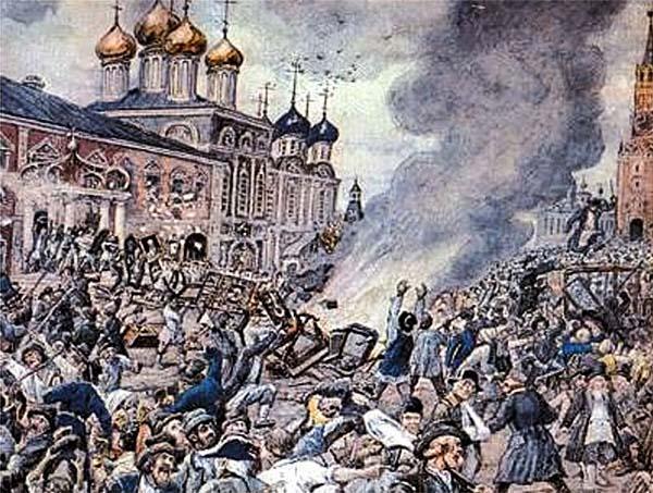 Чумной бунт в Москве