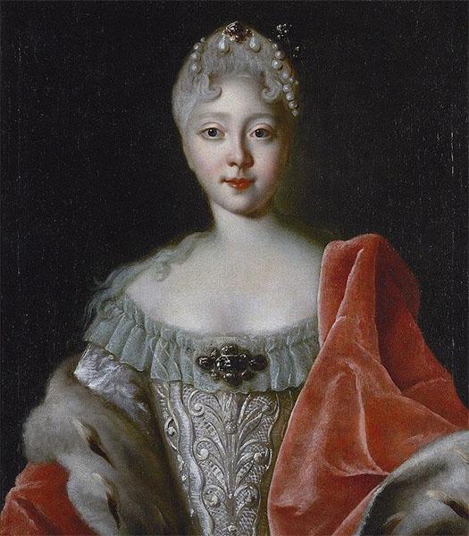 Дочь Петра Великого Елизавета
