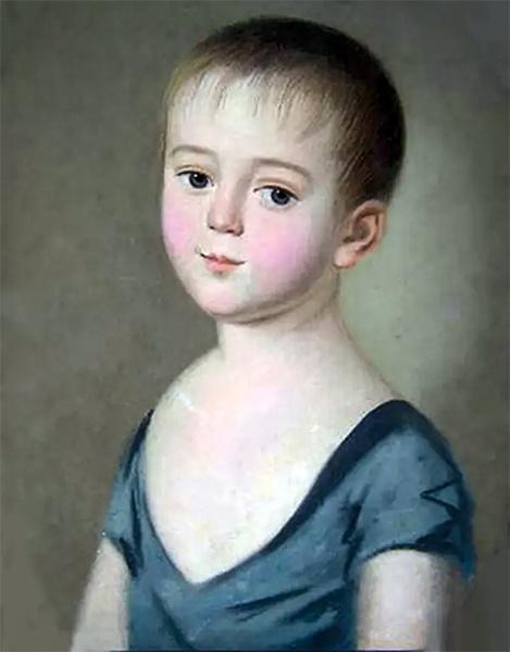 Федор Тютчев в детстве