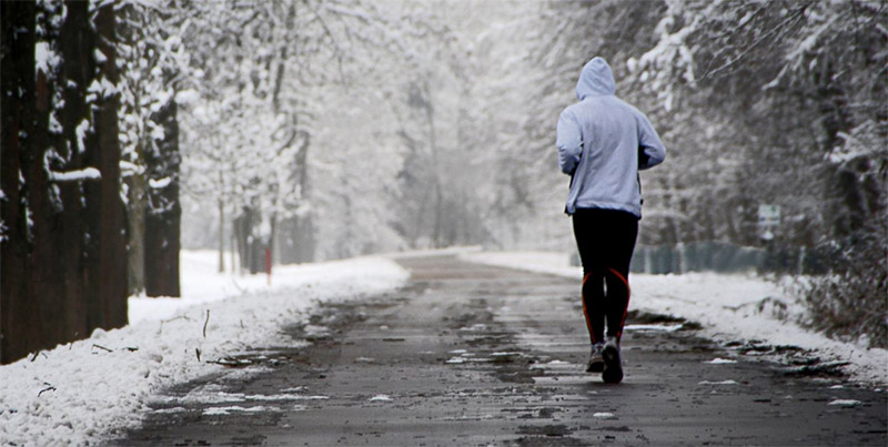 Ходьба зимой