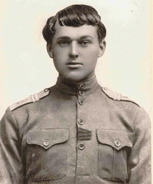 Константин Рокоссовский в молодости