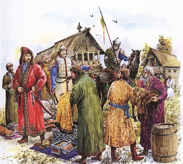 Монголы собирают дань