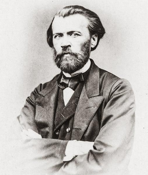Поэт и прозаик Яков Петрович Полонский