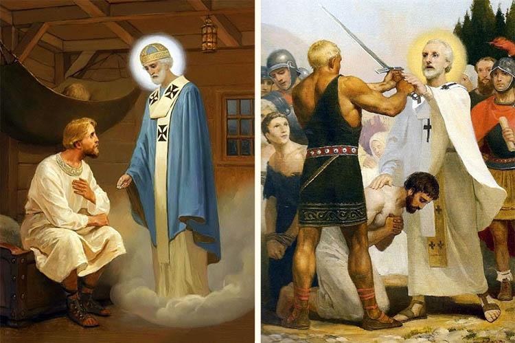 Помощь людям святителя Николая Чудотворца