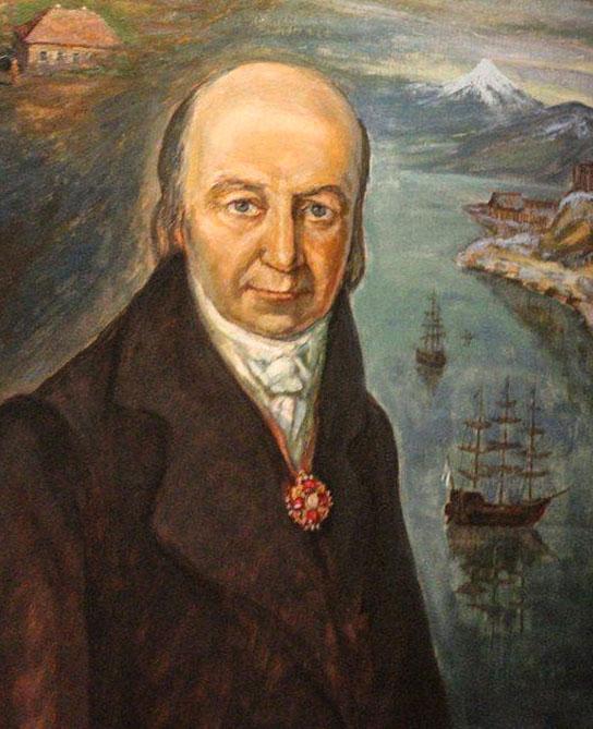 Правитель русских поселений в Америке Александр Баранов