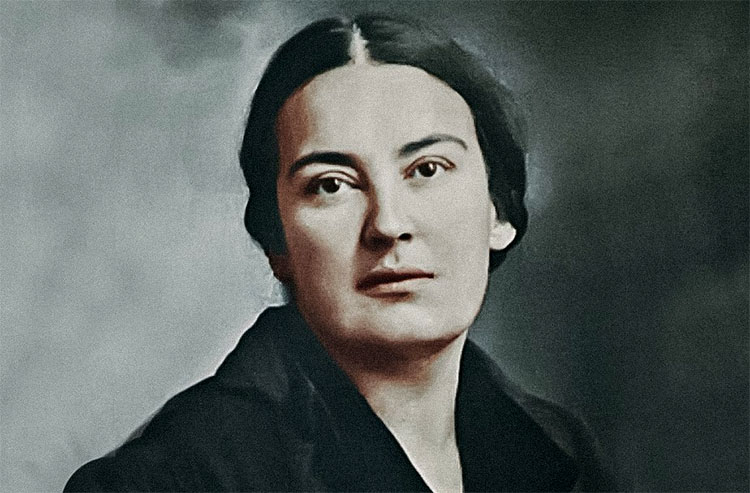 Русская поэтесса Мария Скобцова