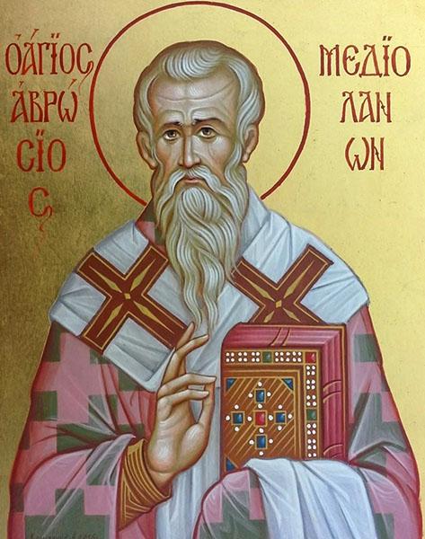 Святитель Амвросий, епископ Медиоланский