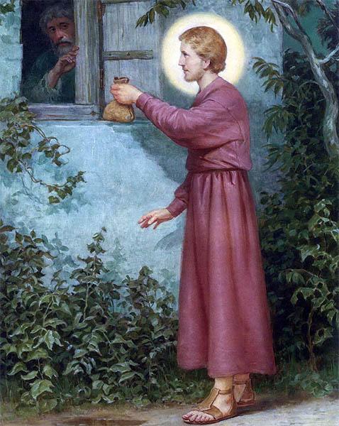 Святитель Николай помогает бедному семейству