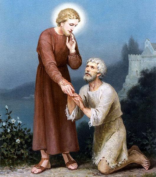 Святитель Николай помогает мужчине