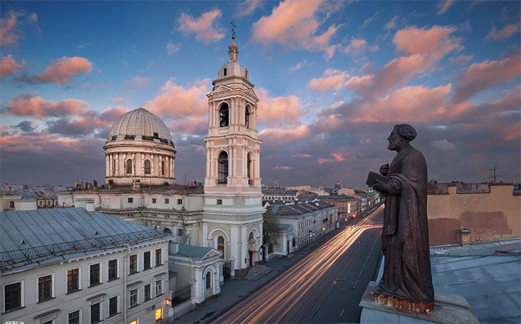 Церковь Святой Екатерины у Тучкова моста