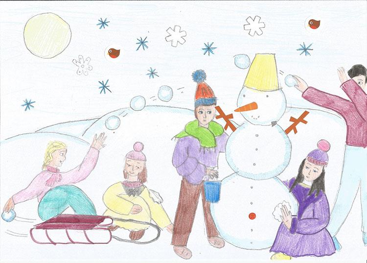 Рисунок 8-летней Матроны Романовой