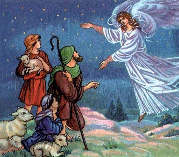 Ангел и пастухи