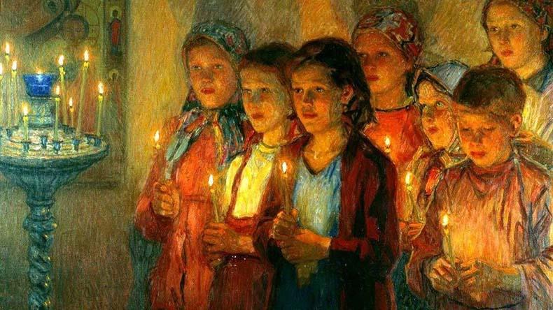 Дети в храме