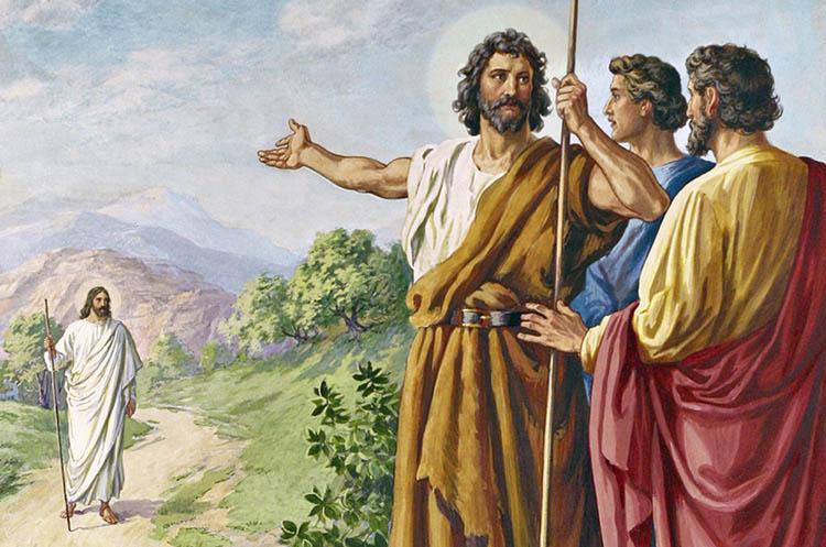 Христос и Иоанн Креститель